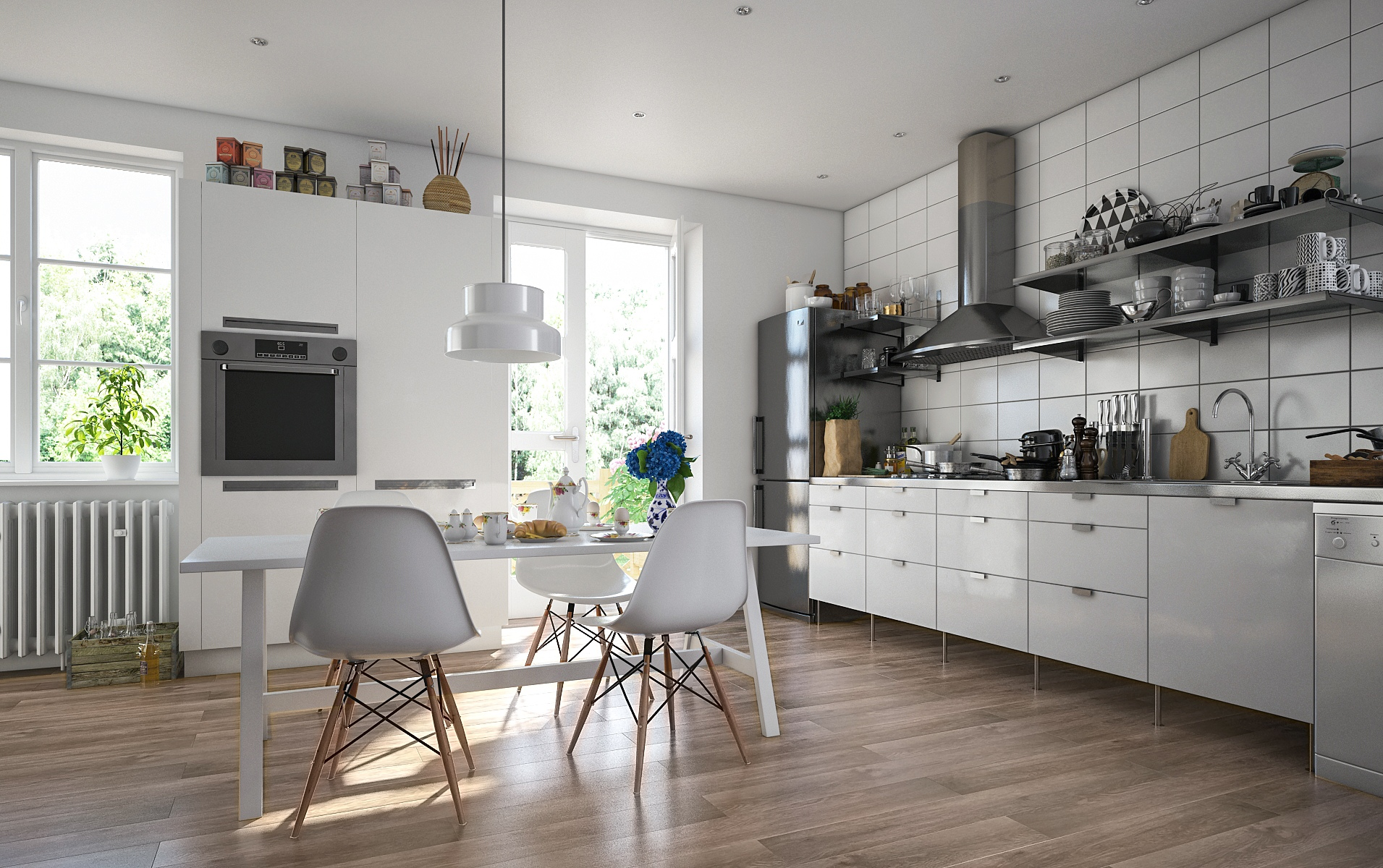 SPC-ламинат для кухни